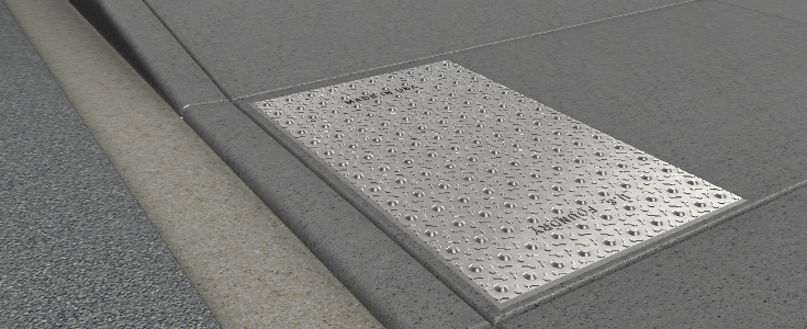 U S Foundry Detectable Warning Plates